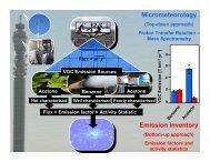 Micrometeorology Emission Inventory - Qi3