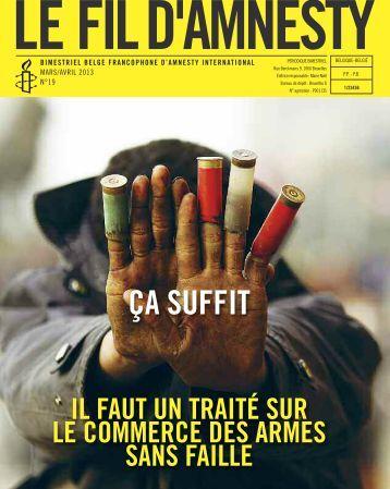 Le Fil - AMNESTY INTERNATIONAL.be