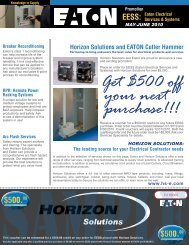 Get $500 off your next purchase!!! $500.00 - Horizon Solutions