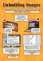 Embedding images in a WordPress site - John Larkin