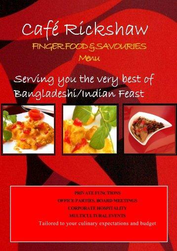 Cafe Rickshaw Finger Food cOMPLETED