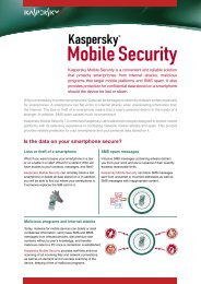 Is the data on your smartphone secure? - A Soft 1