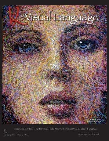 Visual Language Magazine Contemporary Fine Art Vol 4 No 1