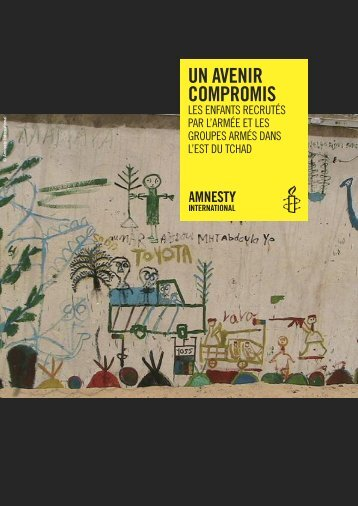 UN AVENIR COMPROMIS - AMNESTY INTERNATIONAL.be