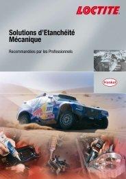 Solutions d'étanchéité mécanique - Henkel