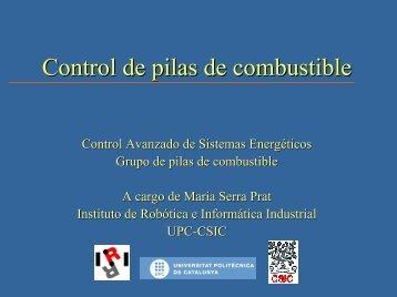 Control de Pilas de Combustible