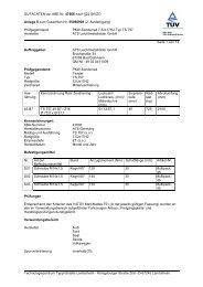 GUTACHTEN zur ABE Nr. 47806 nach §22 StVZO Anlage 8 zum ...