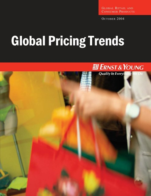 Global Pricing Trends (Full Report)