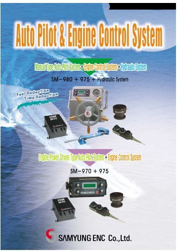 Manual Type Auto Pilot System + Engine Control System + ...