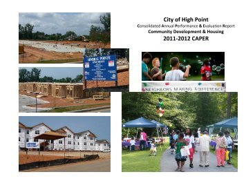 City of High Point 2011-2012 CAPER