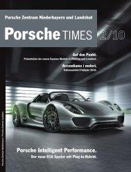 Porsche Zentrum Niederbayern und Landshut