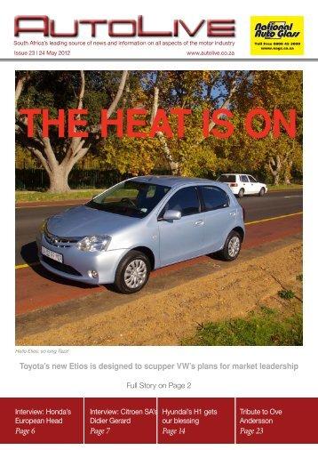 THE HEAT IS ON - Autolive.co.za
