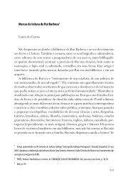 Marcas de leitura de Rui Barbosa1 - Fundação Casa de Rui Barbosa