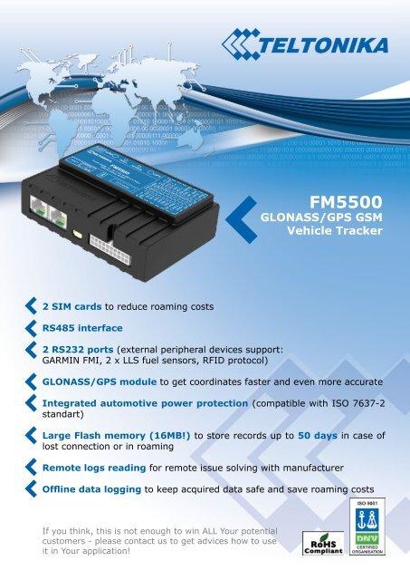 FM5500 - Teltonika