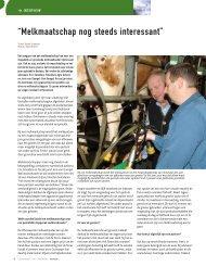 Oversteek-ventilatienok - Melkveebedrijf