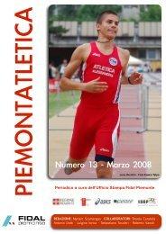 Piemontatletica marzo - Fidal Piemonte