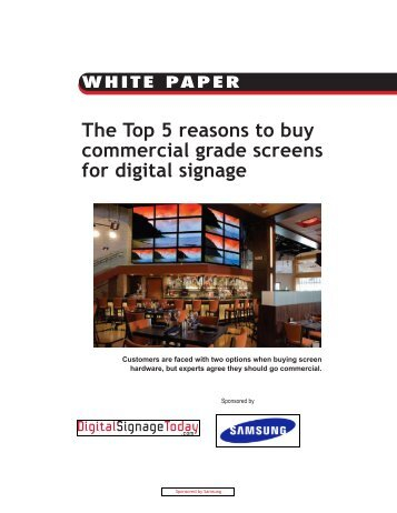 The Top 5 reasons to buy commercial grade screens ... - JCO Products