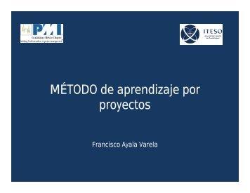 Mayo Presentación 1- Método de Aprendizaje por Proyectos