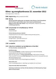 Program for konferansen - Fellesforbundet