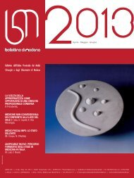 aprile - giugno 2013 (pdf - 1.5 MB) - Ordine Provinciale dei Medici ...
