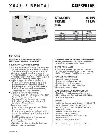 XQ 45-2 - Peterson Power