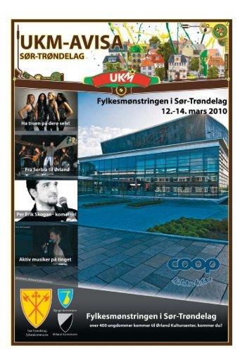 ukm-avisa - Sør-Trøndelag fylkeskommune