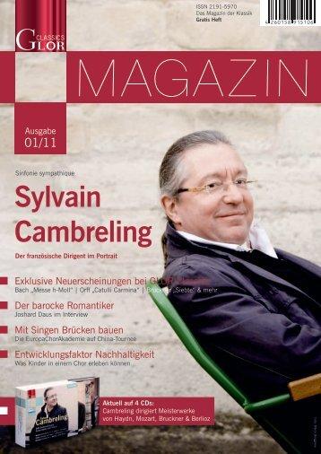 Sylvain Cambreling - GLOR Classics