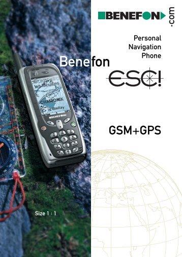 Benefon ESC! - Securecom Technologies