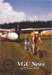 VGC News/Newsletters - Lakes Gliding Club
