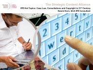 Copyright in the 21st Century - Strategic Content Alliance blog