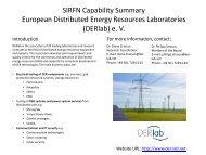 SIRFN DERlab Facility Profile - ESCI KSP