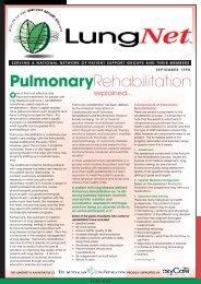 LungNet News September 1998 - Lung Foundation