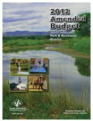 2012 Amended Budget - South Suburban Parks and Recreation