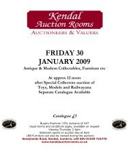 FRIDAY 30 JANUARY 2009 - 1818 Auctioneers