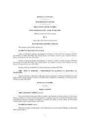 Read - bunge .parliament.go. tz