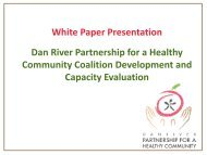 Results - Dan River Partnership for a Healthy Community