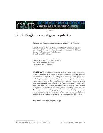 Sex in fungi: lessons of gene regulation - Funpec-RP
