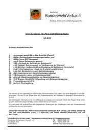 Informationen für Personalratsmitglieder 12/ 2011 - Foeg.de