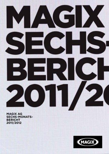 Veröffentlichung des Halbjahresberichts 2011/2012