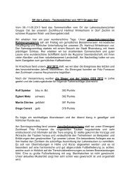 Bericht Tagung Gruppe Ost 2013 - SV der Lahore