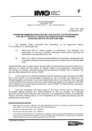 MSC.1/Circ.1408 16 September 2011 INTERIM ... - IMO