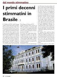 I primi decenni stimmatini in Brasile- 3
