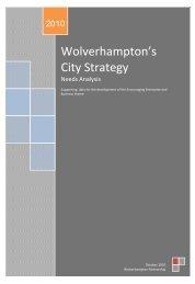 Wolverhampton's City Strategy - Wolverhampton Partnership