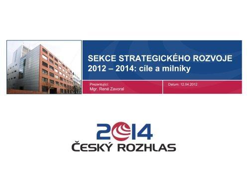 Sekce strategického rozvoje