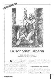 La sonoritat urbana - Raco
