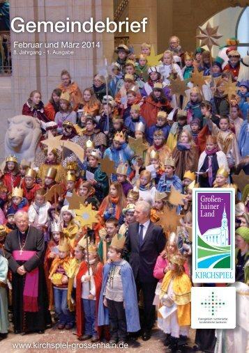 Gemeindebrief für Februar und März - Kirchspiel Großenhainer Land