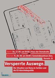 1209 Flyer-VA-Versperrte Auswege - Rosa-Luxemburg-Initiative
