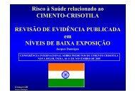 Faça o download da pesquisa em inglês - Crisotila Brasil
