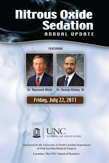 Friday, July 22, 2011 - UNC School of Dentistry - The University of ...