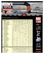 Jim Russell NorCal Rotax Challenge - Red Line Oil Karting ...